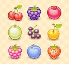 手绘水果矢量图片