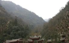 青城后山进山路口图片