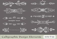 欧式花纹花朵装饰设计图片