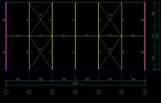 钢结构厂房 屋面结构布置图片