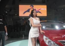 2012济南春季车展车模图片