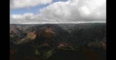 美丽的山脉风景