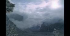 美丽的雪山风景
