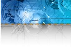 动感线条线路环形 教育科技背景图片