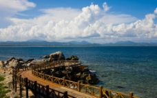 蜈支洲岛 自然风光图片
