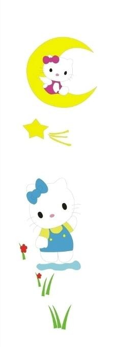 超萌可爱的小猫边框