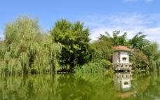 西华师范大学湖图片