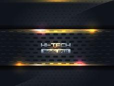 动感光线 金属背景图片