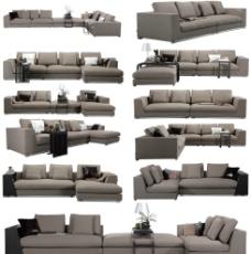 沙发组合图片