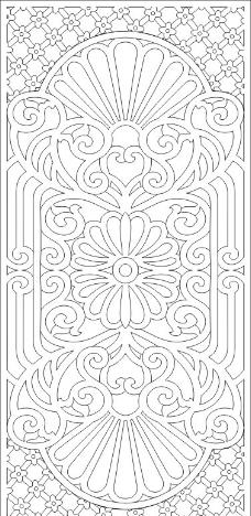 欧洲古典花纹图案设计素材展示