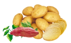 薯片红薯土豆图片