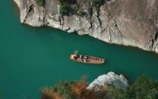 峡谷游船图片