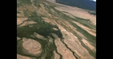 航拍大地平原