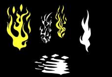 火焰形状图片