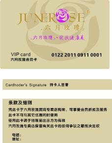 六月玫瑰VIP卡图片