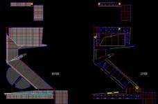 高尔夫别墅 中学屋顶 三层平面图片