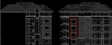 低层公寓转角单元标准层