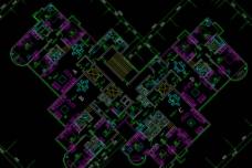 住宅标准层平面图片