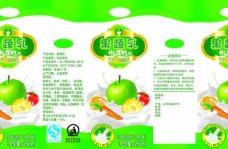 果蔬汁250毫升苗条包装盒图片
