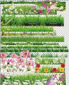花草前景图片