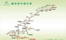 单车俱乐部路线图图片
