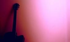 吉他背景墻圖片