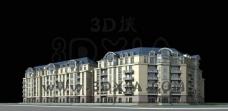 建筑3d模型图片