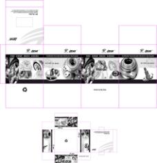 机械配件产品包装盒图片