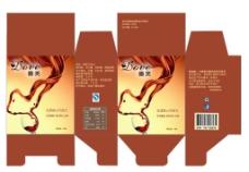 德芙巧克力包装 盒装 红酒图片