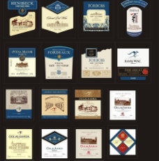 酒标 红酒包装图片