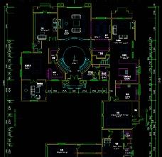 英式别墅首层平面图片