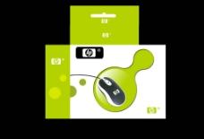 鼠标包装盒平面效果图片