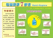 洗手7步法