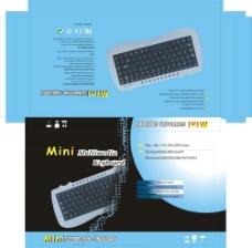 迷你键盘彩盒图片