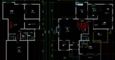 单体别墅首层 半地下层平面图片