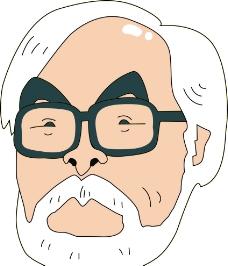 宫崎骏动漫头像图片