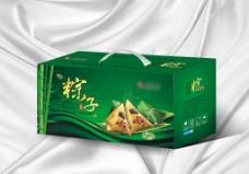 粽子包装彩箱 (展开图)图片