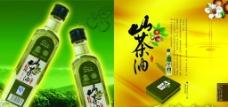 山茶油折页图片
