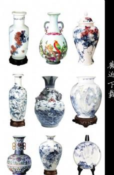 中国风陶瓷