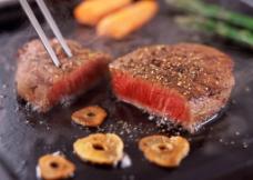 铁板牛肉图片