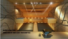 室内设计 3d 源文件 音乐厅图片