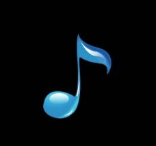 水晶音乐符号图片
