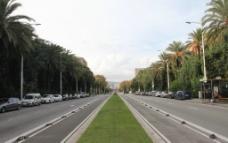 巴塞罗那街道图片