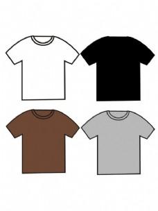 t恤设计模板图片