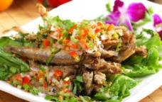 越式椒盐多春鱼图片