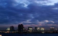城市夜景摄影图片