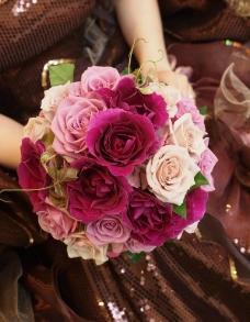 新娘捧花摄影照片图片