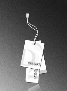 女装吊牌图片