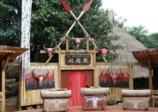 云南少数民族风景建筑图片