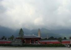 云南崇圣寺三塔摄影图片